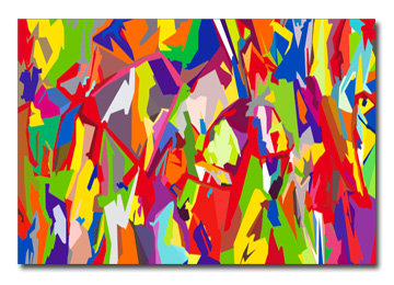abstract, wall art, graffiti, abstract, multi coloured, canvas art, urban art, large wall art,