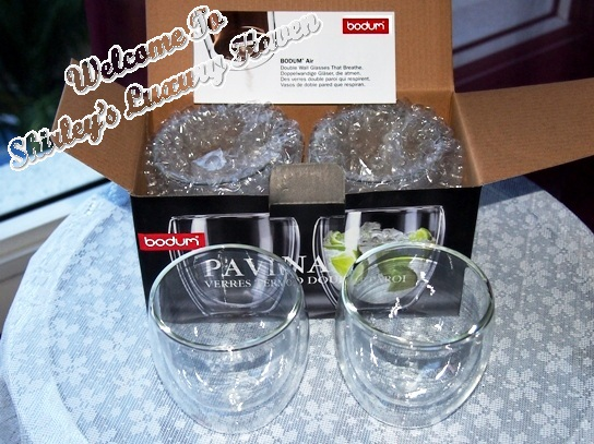 vitacost shopping bodum pavina thermo glasses