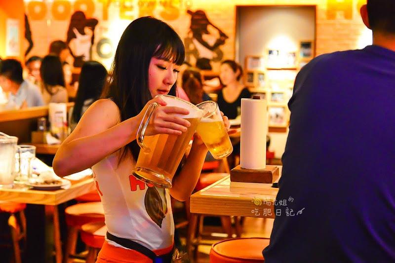 呼特斯餐廳HOOTERS,慶城街美式餐廳,慶城街辣妹餐廳,慶城街聚會聚餐