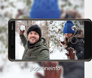 Nokia 6 2018 rear Camera