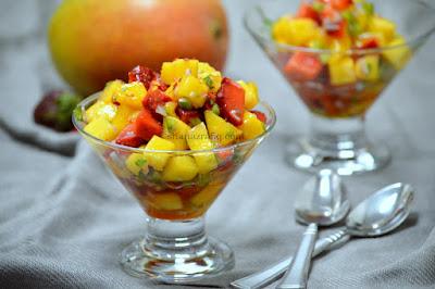 Mango & Strawberry Salsa