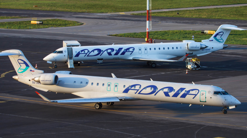 Ex yu aviation news adria airways to expand fleet adria airways plans to add two bombardier crj900 aircraft to its fleet the uporabna stran portal reports the aircraft are expected to commence sciox Gallery