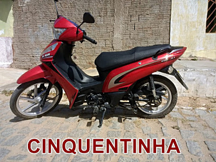 VENDE-SE Shineray ano 2018 50 CC Valor R$ 3.800,00