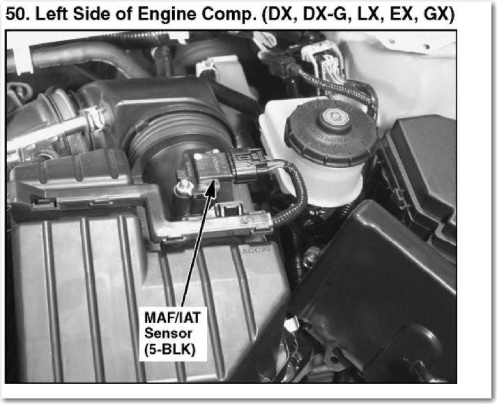IAT Sensor Performance Chip Installation Procedure: 20012012 Honda Civic Iat sensormaf sensor
