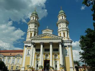 Ужгород. Крестовоздвиженский кафедральный собор