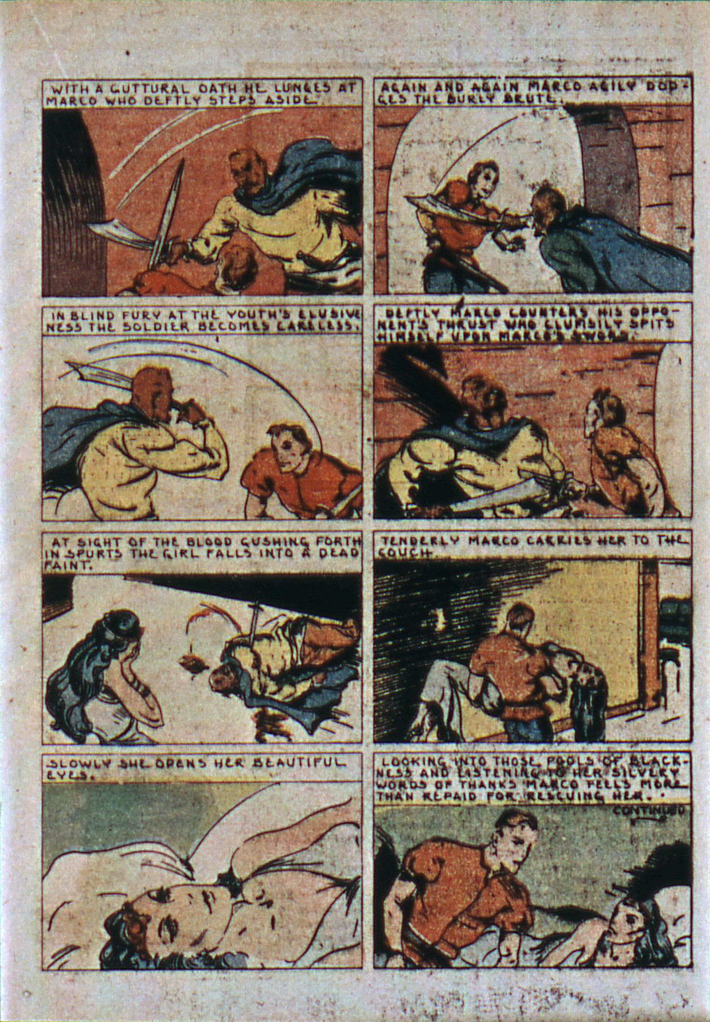 Read online Action Comics (1938) comic -  Issue #6 - 34