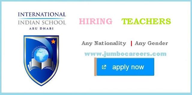 Latest School Teacher Job Vacancies in Abu Dhabi