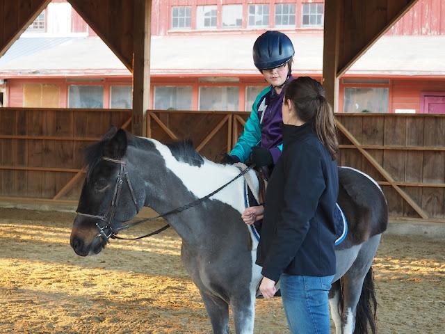horseback riding lesson Sugar Magnolia Farm