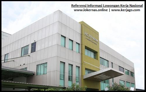 Info Kerja Terbaru di PT Hexpharm Jaya Laboratories (Lulusan SMA/SMK/Setara)