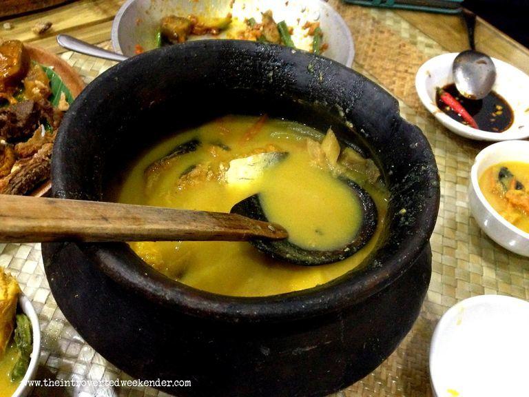 Sinigang na cream dory at Apag Marangle