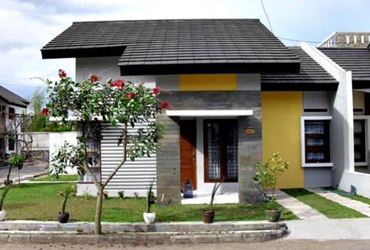 Gambar desain rumah minimalis tipe 45