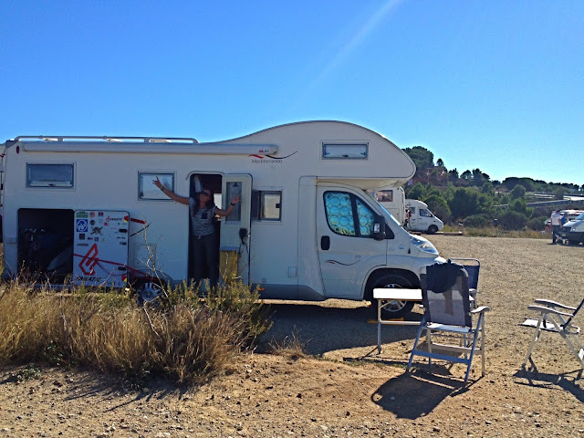 Camping car leucate wesh center crew le goulet spot summer