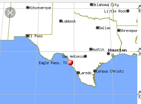 eagle pass tx map