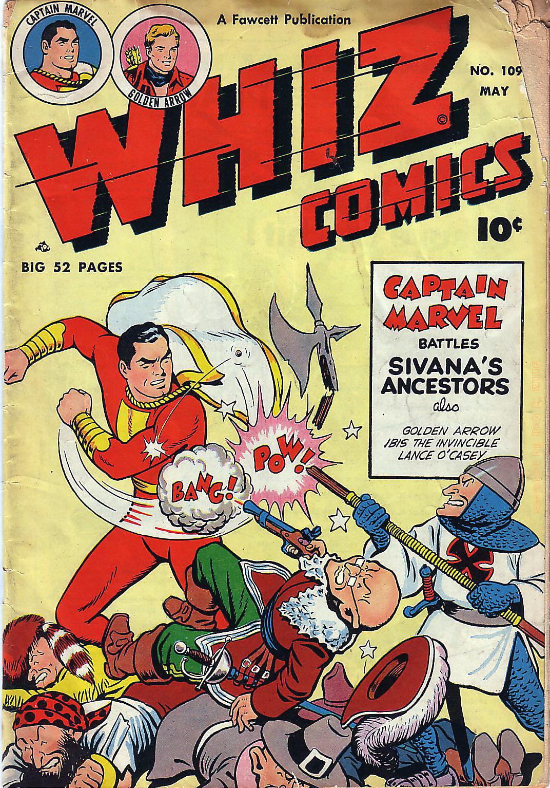 WHIZ Comics 109 Page 1