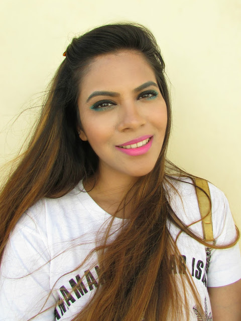 Collage makeup, fun colorful makeup, makeup, delhi blogger, delhi beauty blogger, indian blogger, indian beauty blogger, Turquoise eye makeup, Fun Colorful Makeup, Maybelline Colorssal Eye Kit, how to use Turquoise eyeliner,beauty , fashion,beauty and fashion,beauty blog, fashion blog , indian beauty blog,indian fashion blog, beauty and fashion blog, indian beauty and fashion blog, indian bloggers, indian beauty bloggers, indian fashion bloggers,indian bloggers online, top 10 indian bloggers, top indian bloggers,top 10 fashion bloggers, indian bloggers on blogspot,home remedies, how to