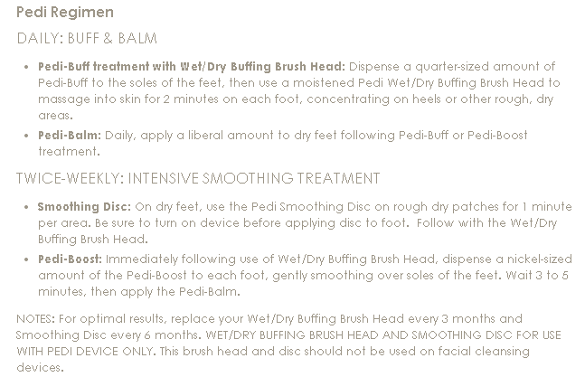 Clarisonic Pedi Sonic Foot Transformation System - Page 1 ...
