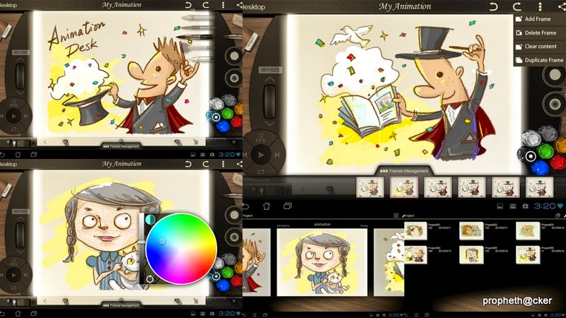 Create Art and Cartoons in Android Mobile