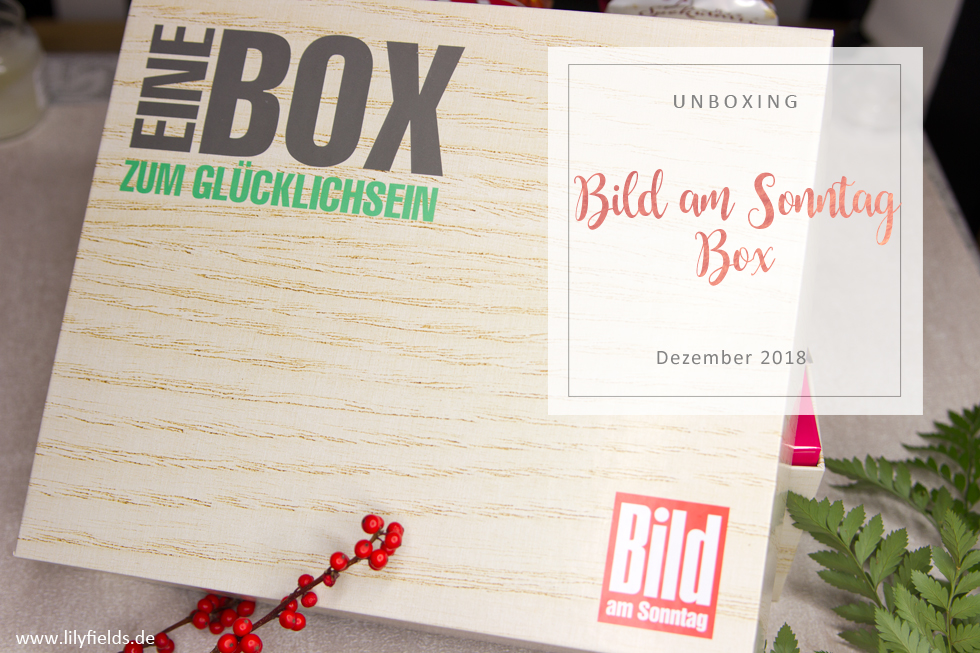 bild am sonntag box dezember 2018 lilyfields. Black Bedroom Furniture Sets. Home Design Ideas
