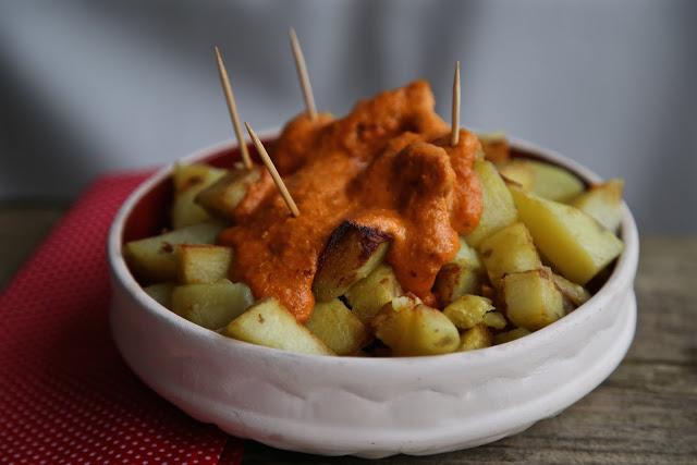Patatas bravas by Kerstin Rodgers