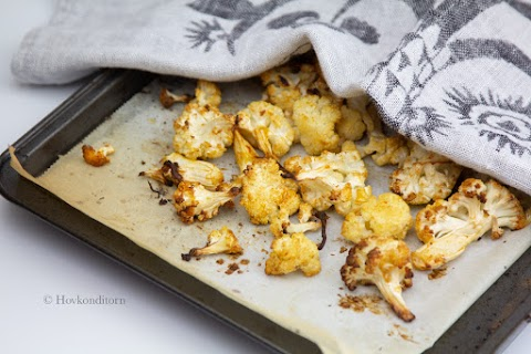Mustard Roasted Cauliflower