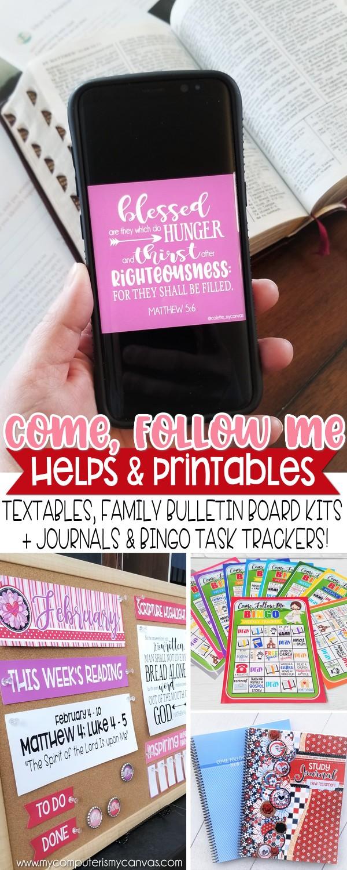 Come Follow Me PRINTABLES for FEB!