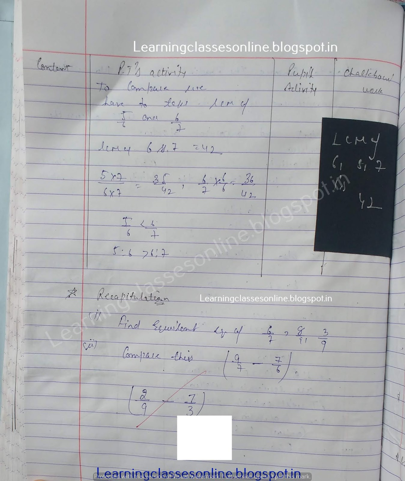 Brief Lesson Plan In Mathematics For High School,