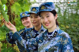 Guarnición femenina en Yongshu