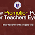 New Promotion Policy for Teachers Eyed