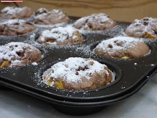 fischiscooking, mango schoko muffins