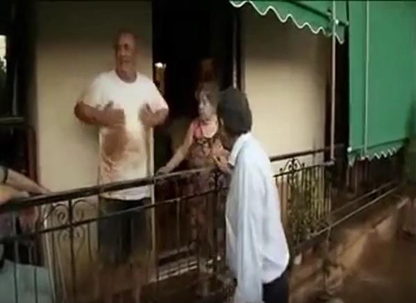 Αποτέλεσμα εικόνας για Πλημμυροπαθής ξεφτιλίζει Σαμαρά