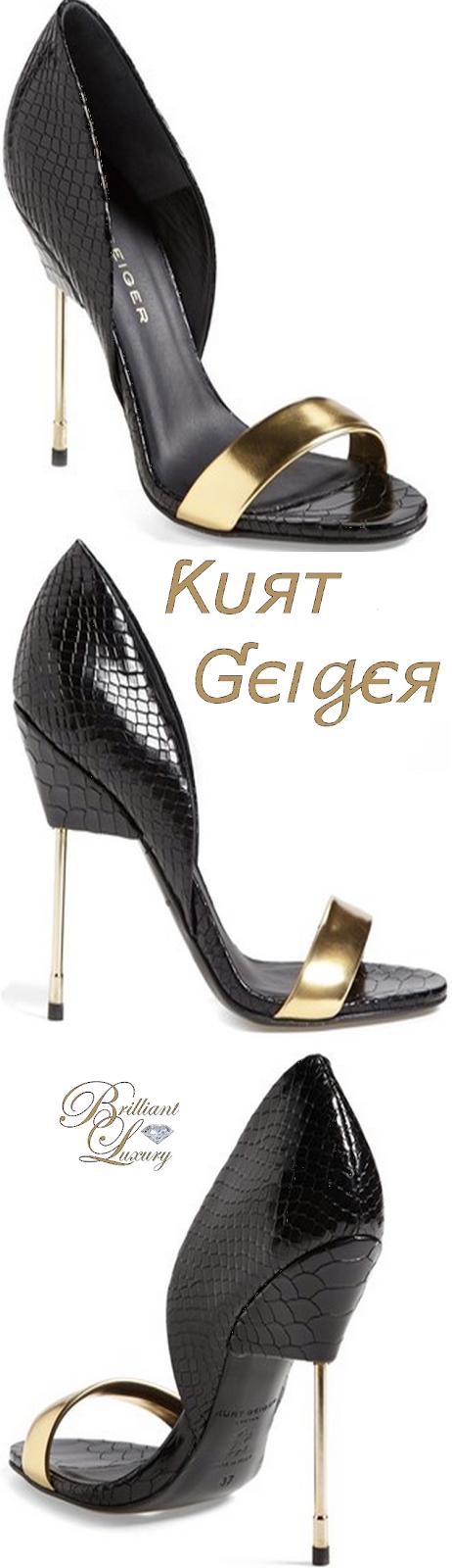 Brilliant Luxury ♦ Kurt Geiger 'Bank'
