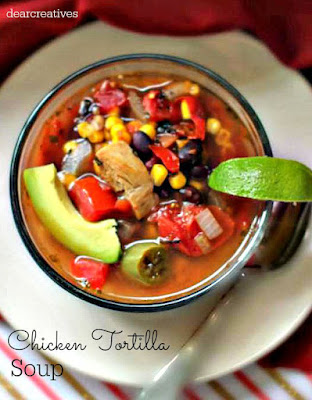 Chicken Tortilla Soup, shared by Penney Lane