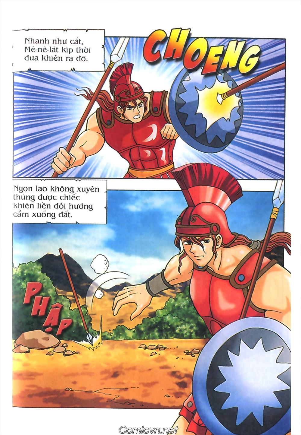 Thần Thoại Hy Lạp Màu - Chapter 58: Cuộc chiến định mệnh 2 - Pic 46