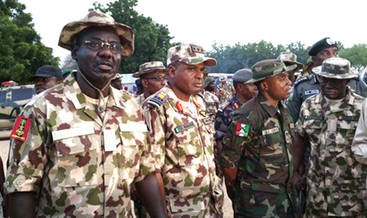 Image result for Army appoints new Commanders for Operation for Lafiya Dole