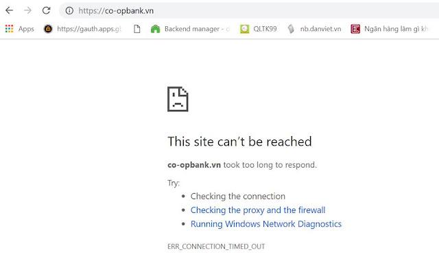 https://Co-opbank.vn/ vẫn chưa thể truy cập