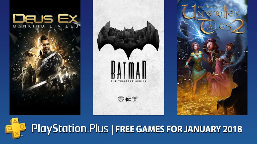 playstation plus free games january 2018