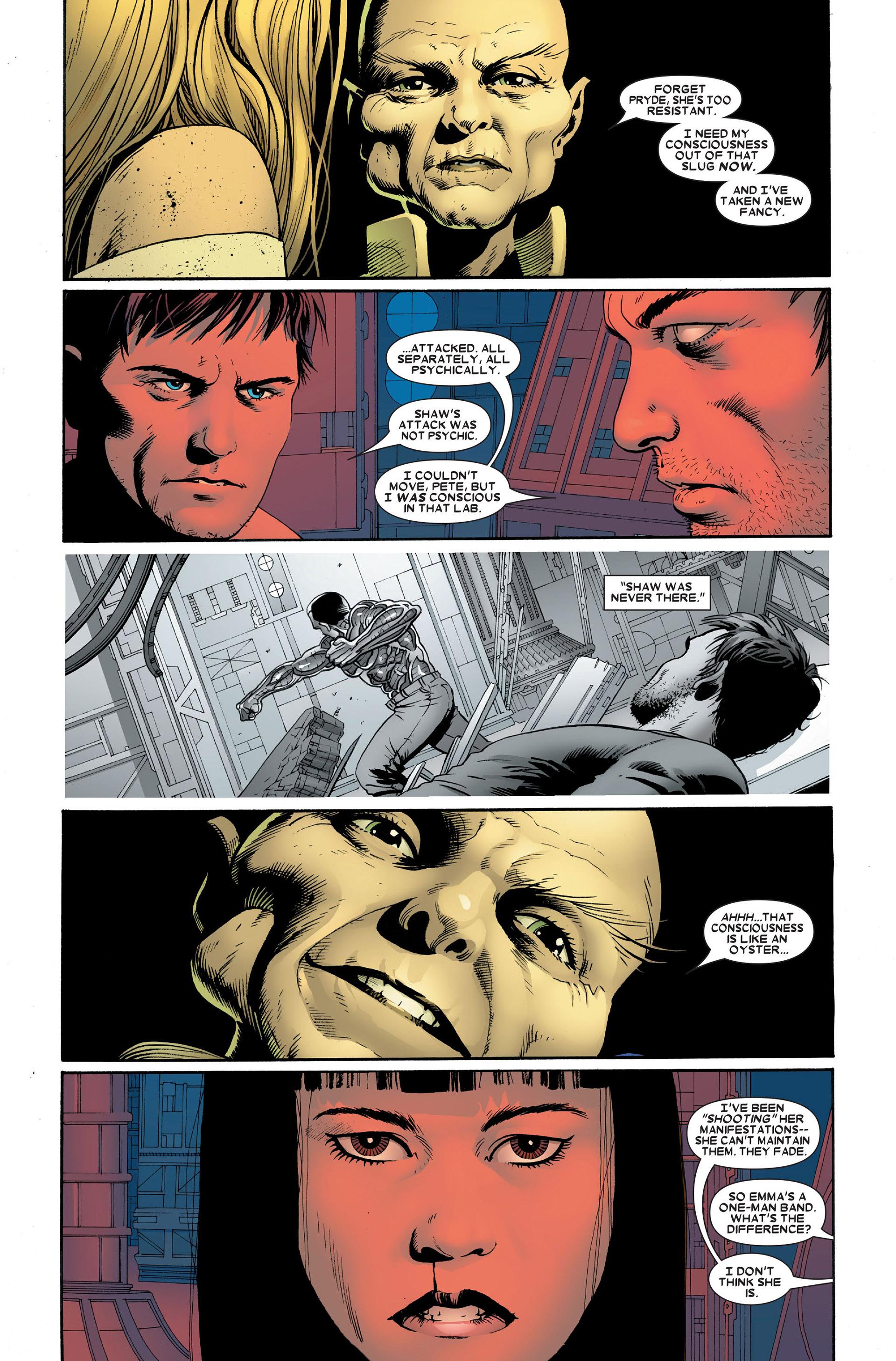 Read online Astonishing X-Men (2004) comic -  Issue #18 - 18