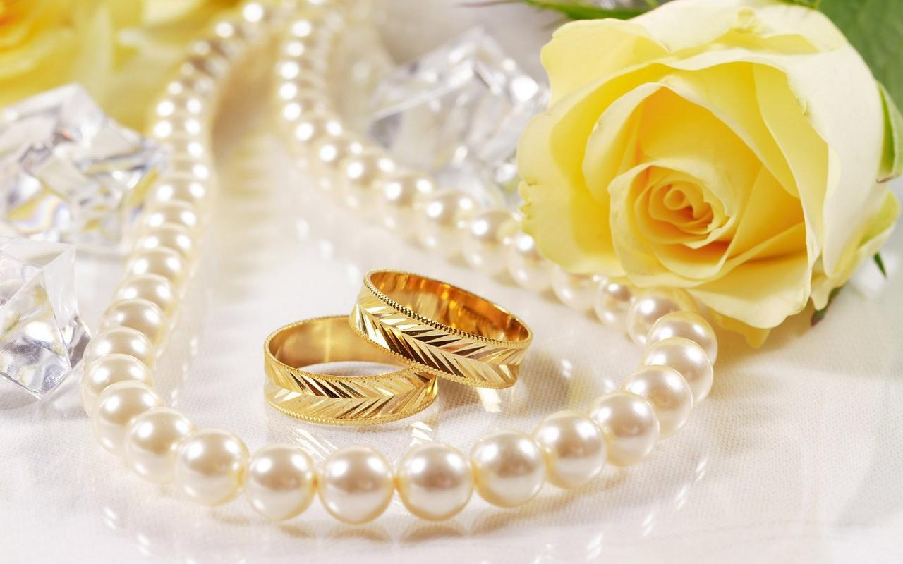 widescreen wedding rings wallpapers