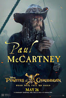 Pirates of the Caribbean Dead Men Tell No Tales Poster Paul McCartney