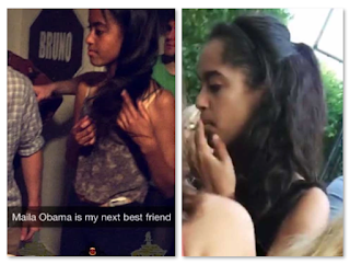 Malia Obama Beer Pong Smoking Pot Weed