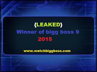 {LEAKED} Winner of bigg boss 9 2015 | bigg boss 9 winner name list