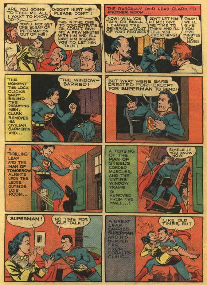 Read online Action Comics (1938) comic -  Issue #26 - 7