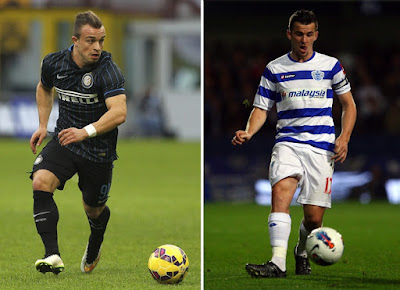 Xherdan Shaqiri and Joey Barton set for medical