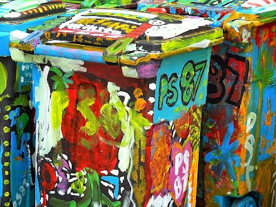 Trash Cans Clip Art