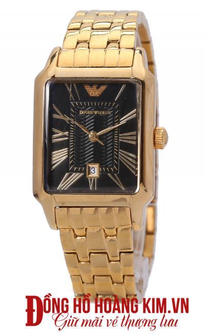 đồng hồ nữ dây sắt mặt vuông