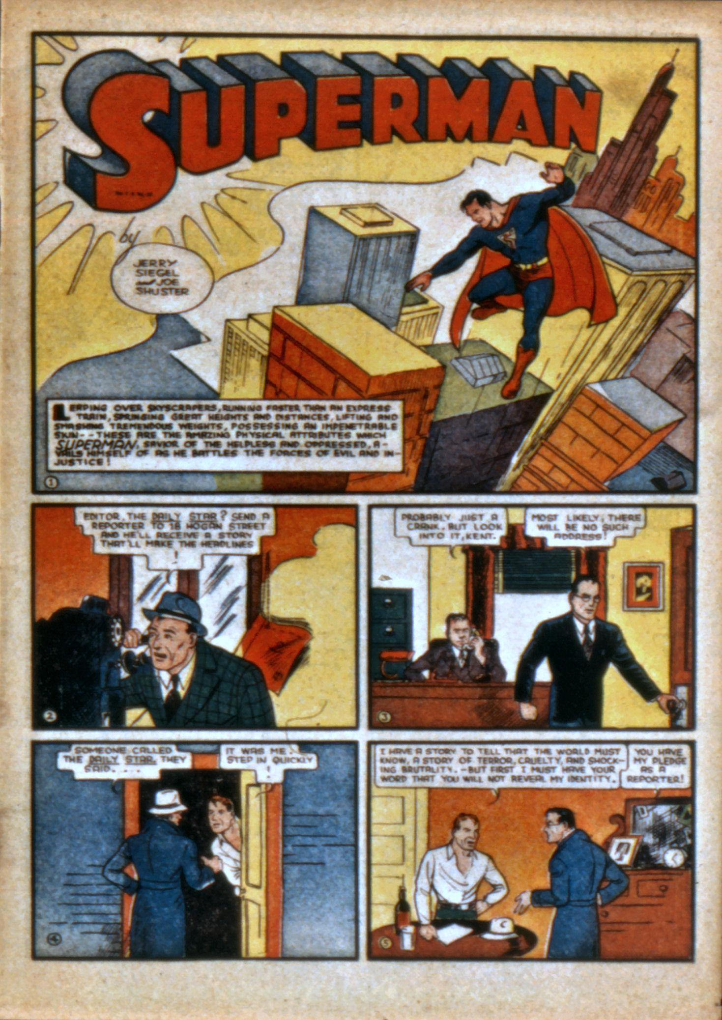 Action Comics (1938) 10 Page 3