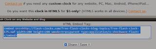 Cara mudah memasang Widget Jam Keren Pada Blog