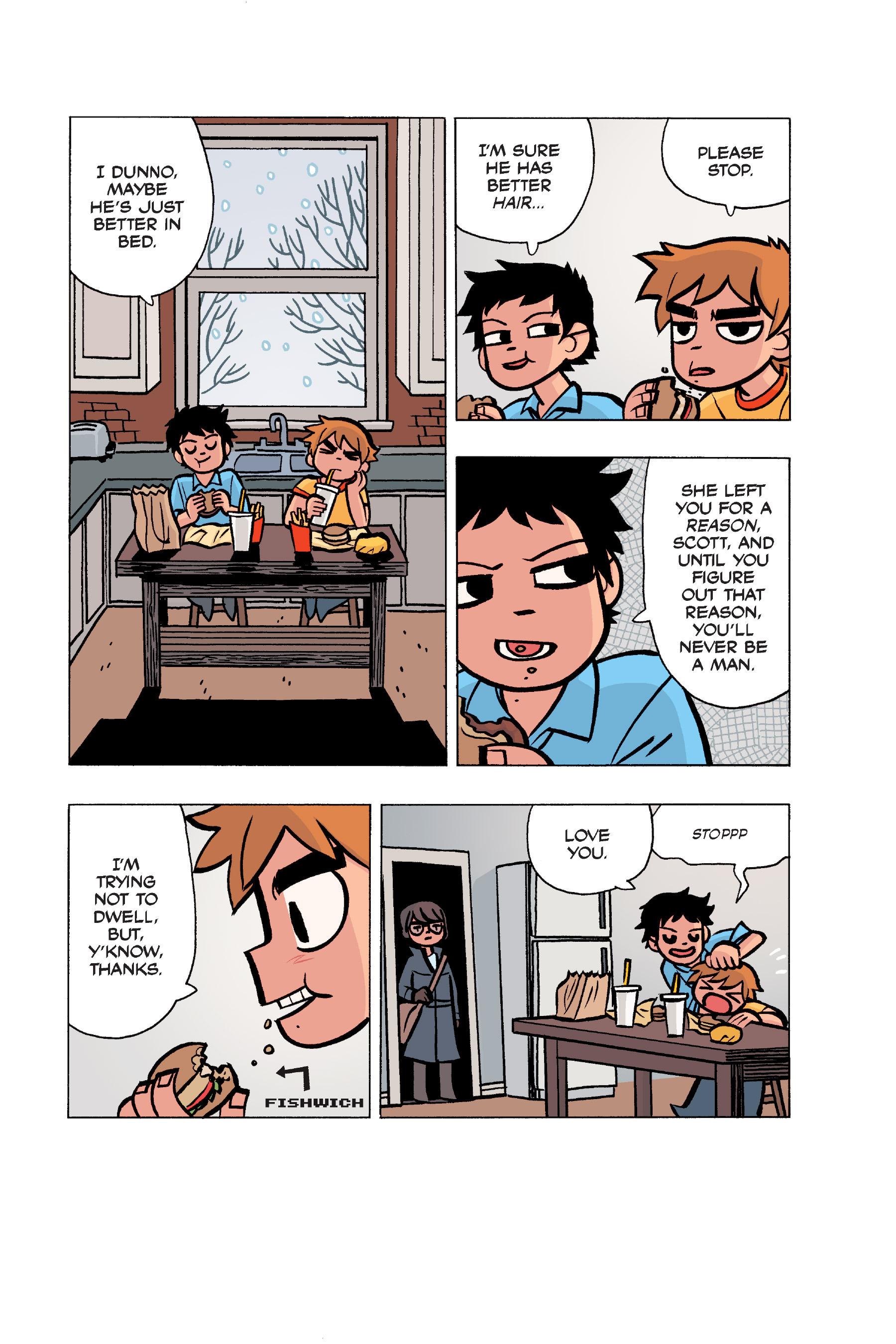 Read online Scott Pilgrim comic -  Issue #5 - 156