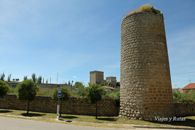 Cubos de la muralla de Astudillo