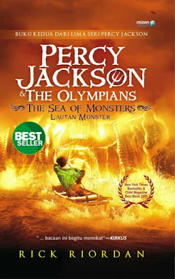 Hasil gambar untuk Novel Percy Jackson (Lautan Monster) – Rick Riordan